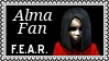 F.E.A.R. Alma Fan Video Game Stamp by dA--bogeyman