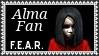 F.E.A.R. Alma Fan Video Game Stamp by dA--bogeyman
