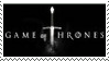 HBO Game of Thrones Sword Logo Stamp by dA--bogeyman