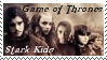 HBO Game of Thrones Stark Kids Stamp by dA--bogeyman