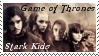 HBO Game of Thrones Stark Kids Stamp by dA--bogeyman