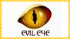 Evil Eye Stamp by dA--bogeyman