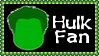 Marvel Comics Hulk Fan Stamp by dA--bogeyman