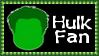 Marvel Comics Hulk Fan Stamp by dA--bogeyman