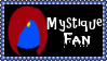 Marvel Comics Mystique Fan Stamp by dA--bogeyman