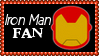 Marvel Comics Iron Man Fan Stamp