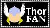 Marvel Comics Thor Fan Stamp by dA--bogeyman