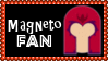 Marvel Comics Magneto Fan Stamp by dA--bogeyman