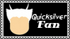 Marvel Comics Quicksilver Fan Stamp by dA--bogeyman