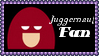 Marvel Comics Juggernaut Fan Stamp by dA--bogeyman