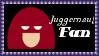 Marvel Comics Juggernaut Fan Stamp by dA--bogeyman