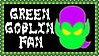 Marvel Comics Green Goblin Fan Stamp by dA--bogeyman
