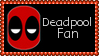 Marvel Comics Deadpool Fan Stamp by dA--bogeyman