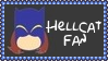 Marvel Comics Hellcat Fan Stamp by dA--bogeyman