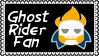 Marvel Comics Ghost Rider Fan Stamp by dA--bogeyman