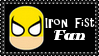 Marvel Comics Iron Fist Fan Stamp by dA--bogeyman