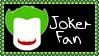DC Comics Joker Fan Stamp by dA--bogeyman