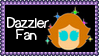 Marvel Comics Dazzler Fan Stamp