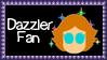 Marvel Comics Dazzler Fan Stamp