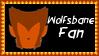 Marvel Comics Wolfsbane Fan Stamp