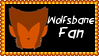 Marvel Comics Wolfsbane Fan Stamp by dA--bogeyman