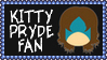 Marvel Comics Kitty Pryde Fan Stamp by dA--bogeyman