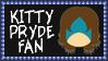 Marvel Comics Kitty Pryde Fan Stamp by dA--bogeyman