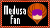 Marvel Comics Medusa Fan Stamp
