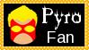 Marvel Comics Pyro Fan Stamp