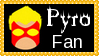 Marvel Comics Pyro Fan Stamp by dA--bogeyman