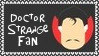 Marvel Comics Doctor Strange Fan Stamp by dA--bogeyman