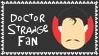 Marvel Comics Doctor Strange Fan Stamp by dA--bogeyman