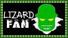 Marvel Comics Lizard Fan Stamp
