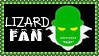 Marvel Comics Lizard Fan Stamp by dA--bogeyman
