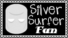 Marvel Comics Silver Surfer Fan Stamp by dA--bogeyman