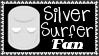 Marvel Comics Silver Surfer Fan Stamp by dA--bogeyman