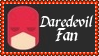 Marvel Comics Daredevil Fan Stamp by dA--bogeyman