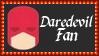 Marvel Comics Daredevil Fan Stamp by dA--bogeyman