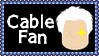 Marvel Comics Cable Fan Stamp by dA--bogeyman