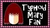 Marvel Comics Typhoid Mary Fan Stamp by dA--bogeyman