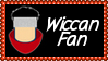 Marvel Comics Wiccan Fan Stamp by dA--bogeyman