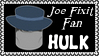 Marvel Comics Joe Fixit - Hulk Fan Stamp by dA--bogeyman