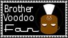 Marvel Comics Brother Voodoo Fan Stamp by dA--bogeyman
