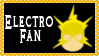 Marvel Comics Electro Fan Stamp by dA--bogeyman