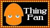 Marvel Comics Thing Fan Stamp by dA--bogeyman