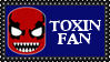 Marvel Comics Toxin Fan Stamp by dA--bogeyman