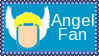Marvel Comics Angel Fan Stamp by dA--bogeyman