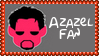 Marvel Comics Azazel Fan Stamp by dA--bogeyman