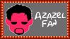 Marvel Comics Azazel Fan Stamp by dA--bogeyman