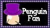 DC Comics Penguin Fan Stamp